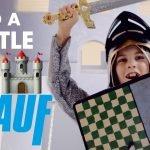 Bau eine Ritterburg mit Knauf