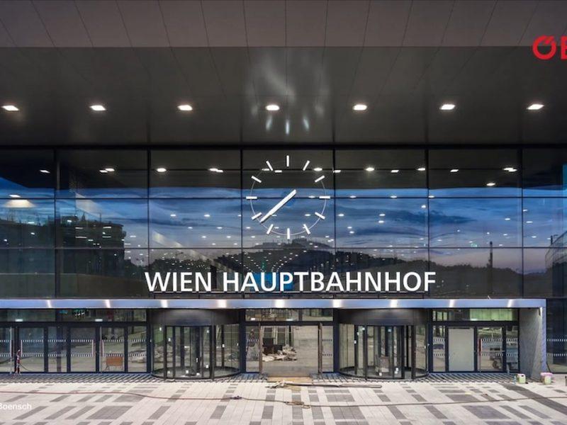 ÖBB Hauptbahnhof Wien Erbauung
