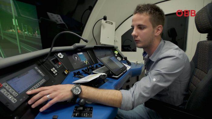 ÖBB Lokfahrausbildung Fahrsimulator LISA