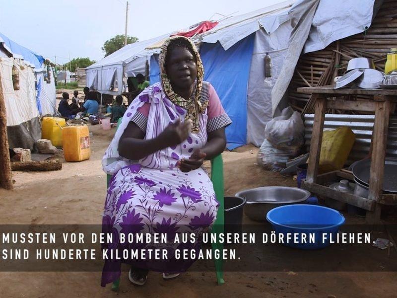 Die Not im Südsudan Video Reportage