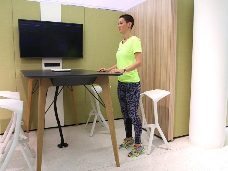 bene Fitnessvideo fit im Büro