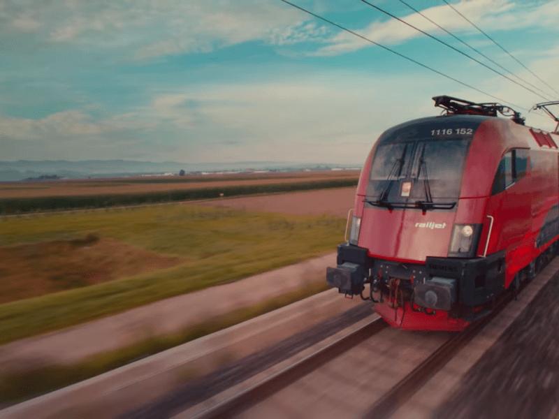 Der neue railjet der ÖBB