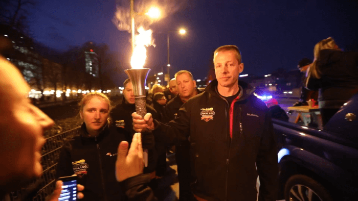 Special Olympics World Winter Games 2017 Torch Run