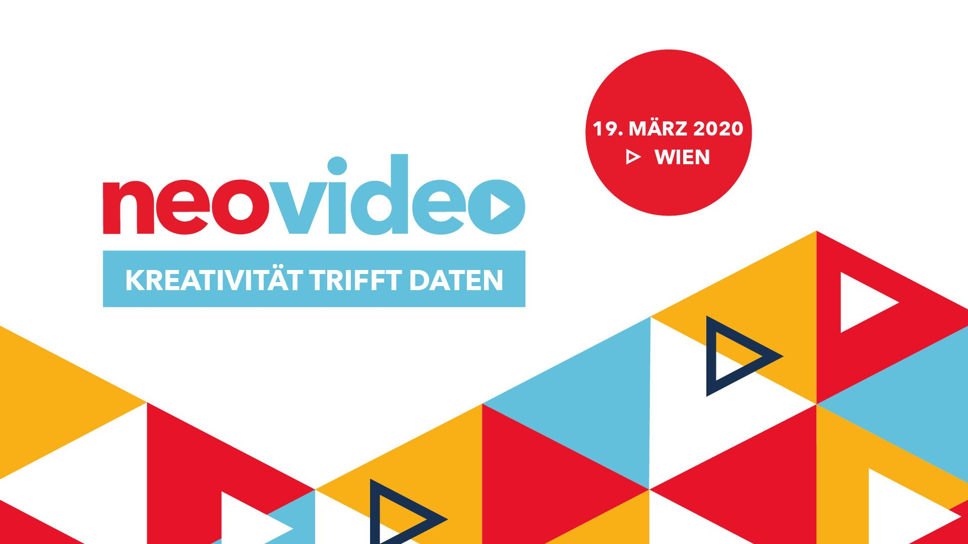 neovideo 2020 - Kreativität trifft Daten